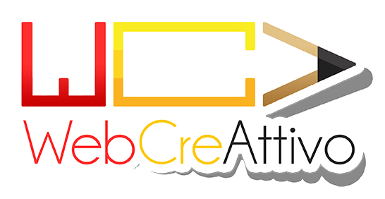Logo WebCreAttivo in rilievo