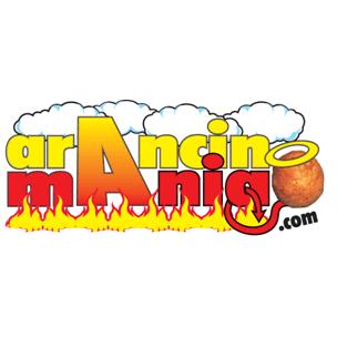 Logo di Arancinomania.com: social e franchising curato da WebCreAttivo