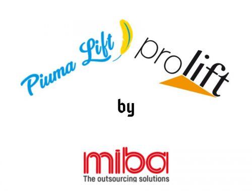 Comunicazione web di Piumalift e Prolift by MIBA ad opera di WebCreAttivo